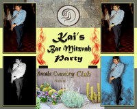 Kais Bar Mitzvah Party Collage